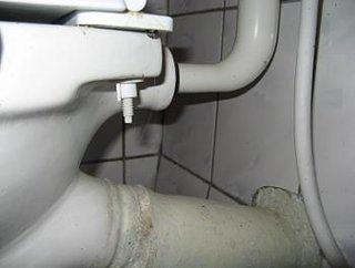 Obiecte sanitare teava scurgere WC spate