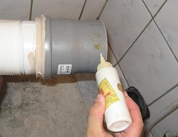 Obiecte sanitare teava scurgere WC vaselina
