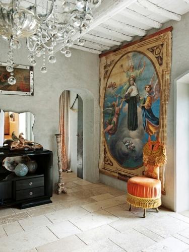 Amestec de nou si vechi in decoratiunile interioare moderne