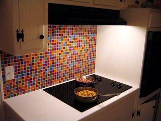 Mozaic colorat bucatarie