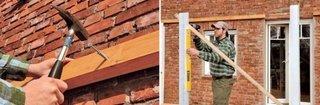 Montare structura terasa