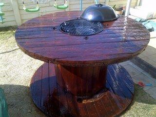 Gratar mare din lemn