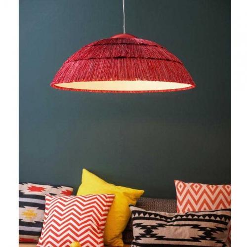 Lampa rosie plafon