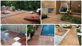 Tipuri de lemn pentru pavarea teraselor de exterior