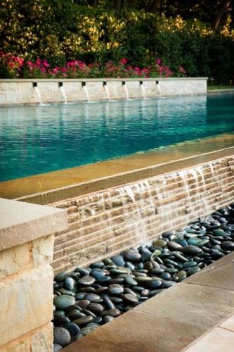 bordura de drenare apa iesire din piscina