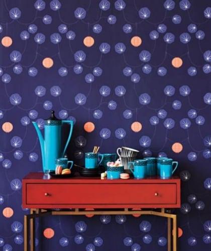 Tapet colorat pentru decor modern