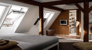Fereastra de mansarda Velux pentru dormitor