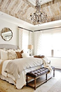 Perdele pentru dormitor cu ferestre pe colt