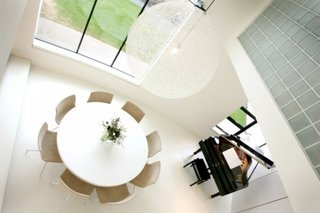 Interior minimalist modern dining alb