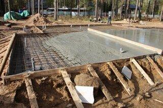 Turnare placa beton casa