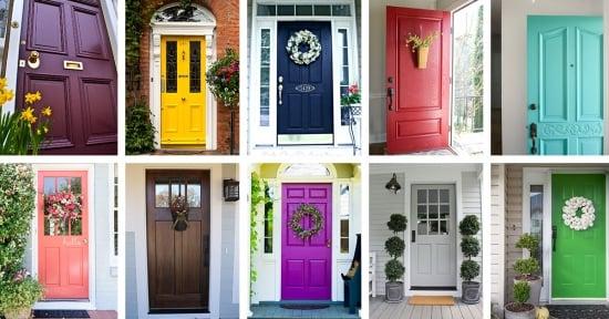 21 cele mai frumoase usi colorate pentru intrarea in casa