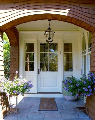 Usa Alba Pentru Exterior Casa
