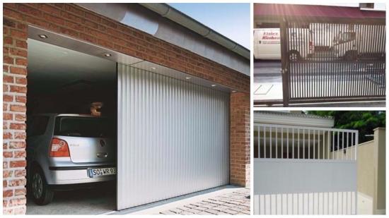 Usi de garaj culisante - avantaje si sfaturi pentru alegerea celui mai bun sistem