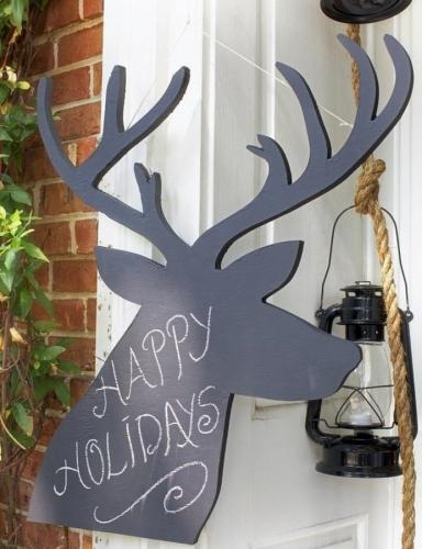 Sarbatori fericite decoratiune ren