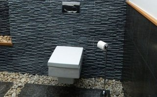 Model dreptunghiular de vas de wc suspendat