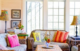 Veioze vintage in living colorat