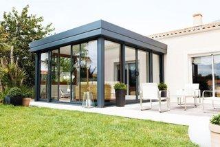 Veranda moderna din policarbonat