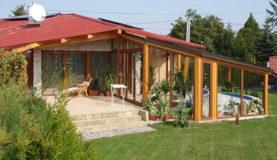 Idee inchidere terasa pe timp de iarna for Case cu terase