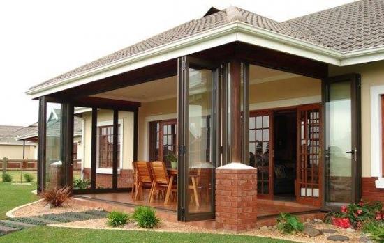 Pereti sticla culisanti pentru terase