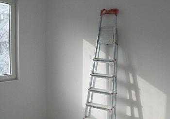 Vopsea lavabila alba - cum se aplica corect pe pereti