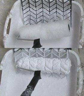 Trafalet pentru vopsea lavabila