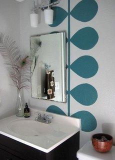 Pictura murala pentru baie