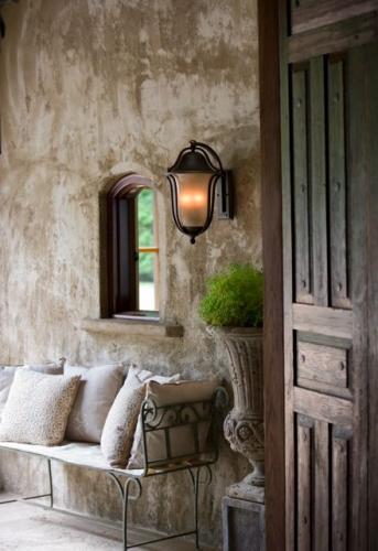 Efect rustic de stucco de exterior