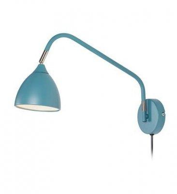Aplica albastra din metal 12x45x22 cm Valencia Markslojd