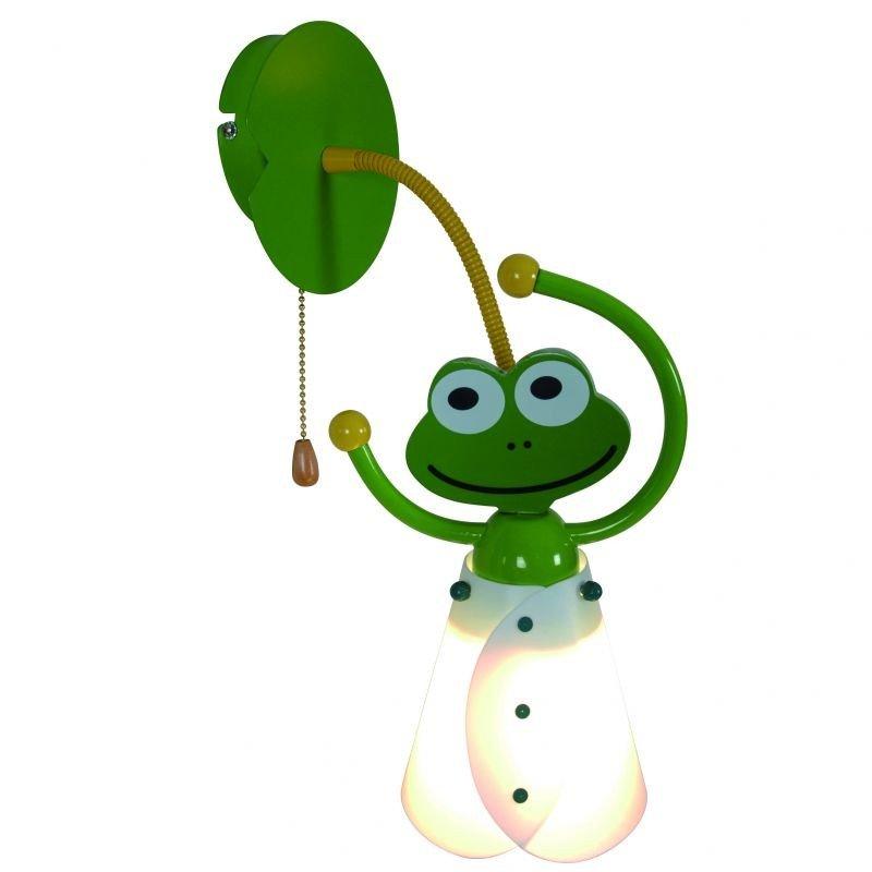 Aplica camera copii FROG, verde