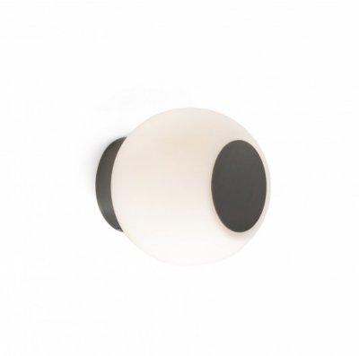 Aplica LED perete/tavan pentru baie Moy, bronz