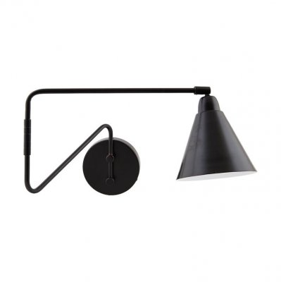 Aplica mare Game negru House Doctor, metal, design scandinav