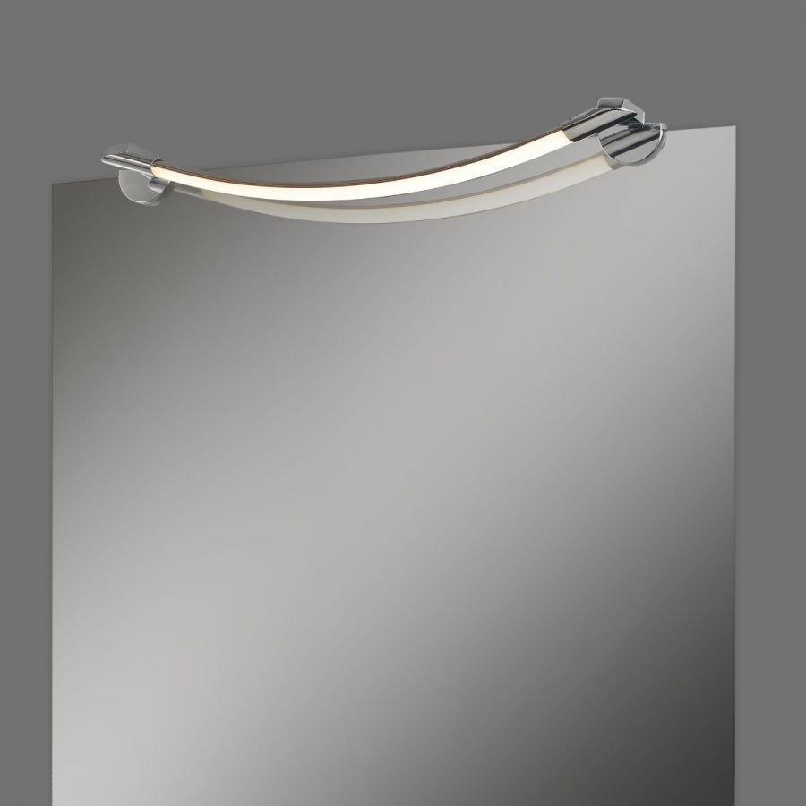 Aplica pentru oglinda Flow, LED, 4000 K, in forma de arc