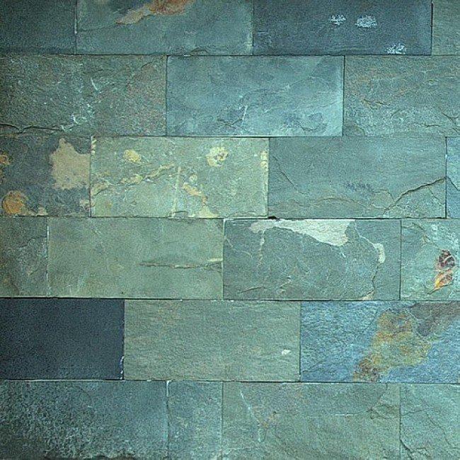 Ardezie VNS 30x15x1,5 cm, verde-gri, placaj