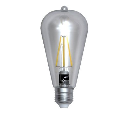 Bec decorativ LED COG 8W AVOCADO E27 LUMEN
