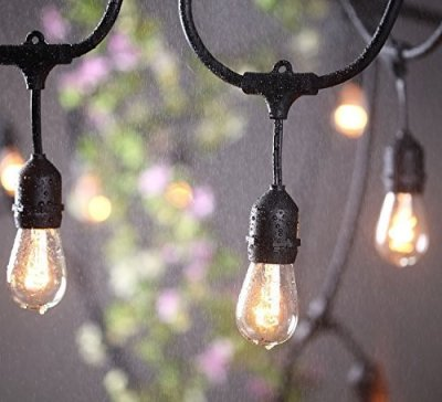 Becuri cu LED-uri Decorative Patio String Lights Edison String Lights