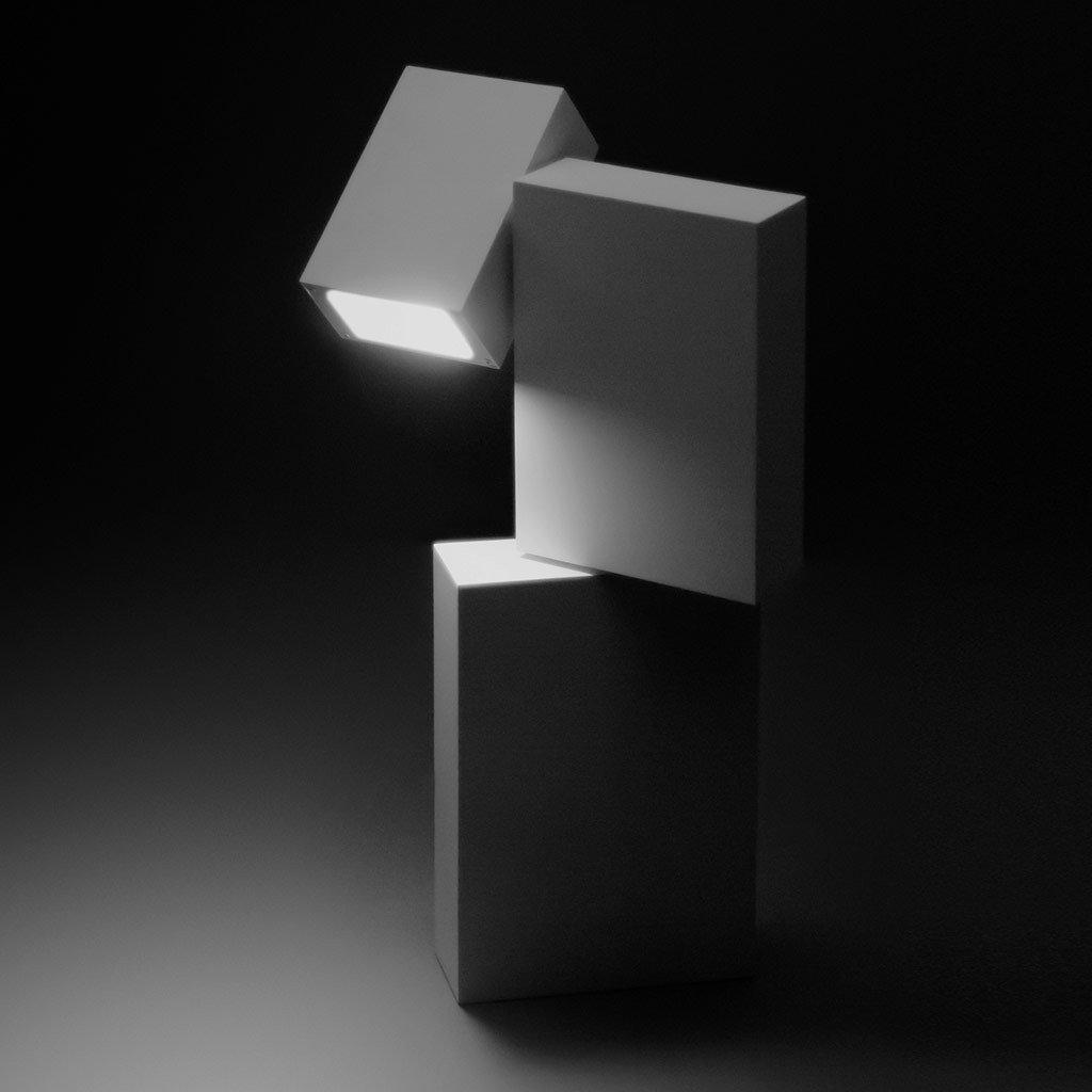Boxes, stâlpi de iluminat decorativ, design minimalist, proiector reglabil