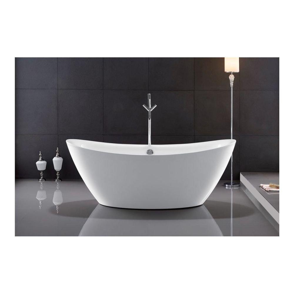Cada de baie Ferrano, free-standing, design elegant, materiale de cea mai inalta calitate, Mirror Coat