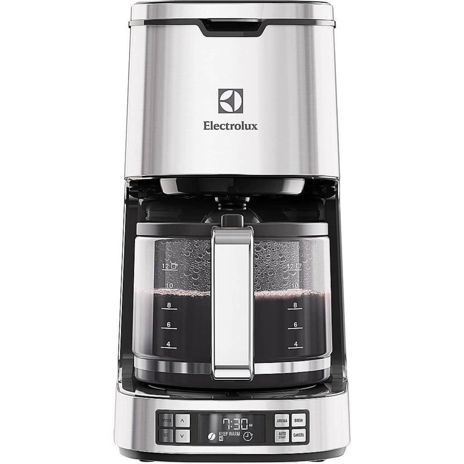 Cafetiera Electrolux EKF7800, 1080 W, 1.6 l, 12 cesti, Inox