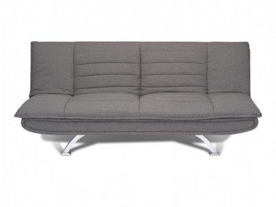 Canapea extensibila tapitata cu stofa, 3 locuri Bart Grey, l185xA102xH86 cm