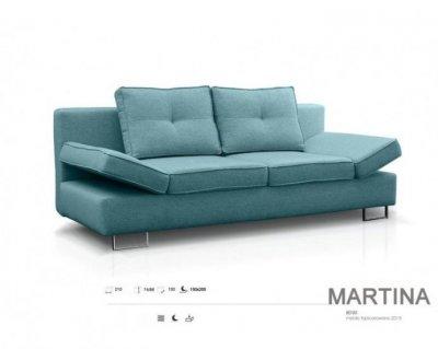 Canapea extensibila MARTINA, lada depozitare, 210x100x74 (L x l x H)