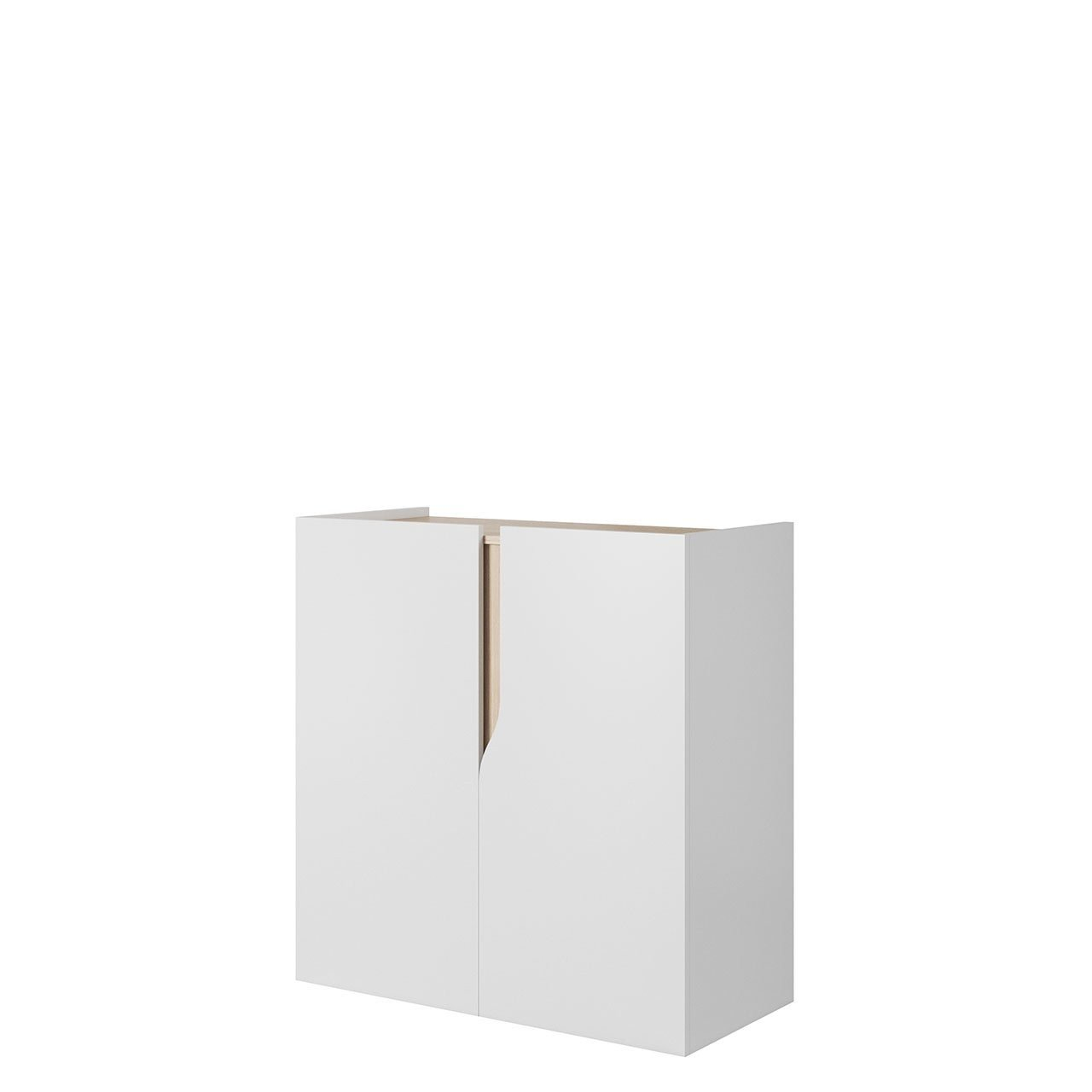 Comoda 92 Block BO04, modern, alb mat