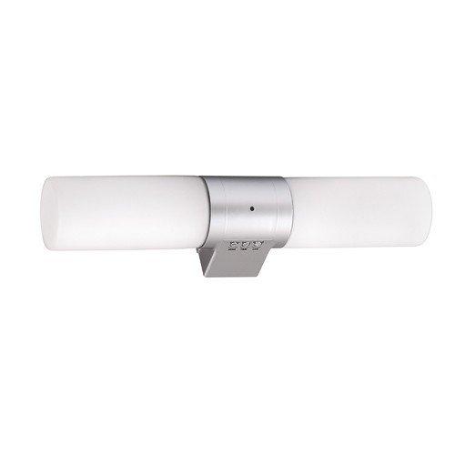 Corp de +iluminat  pentru baie - cu sensor, 2X40W, E14, CYLINDER