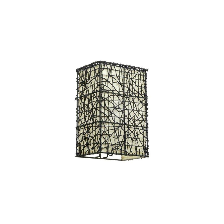 Corp de iluminat perete WOK , metalic, bej/maro, design modern