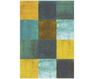 Covor Moar Square 60x120 cm, modern, imprimeu geometric, multicolor