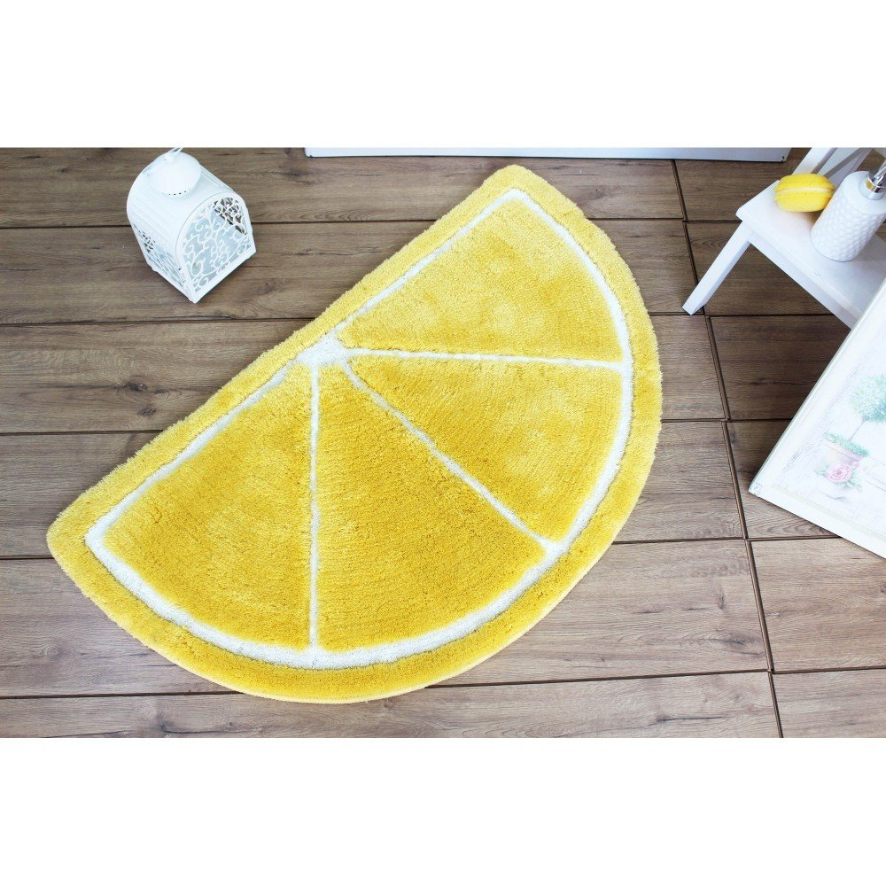Covor pentru baie Limon antiderapant, antibacterian