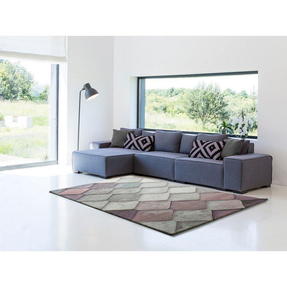 Covor Universal Multi Mubis, 60 x 120 cm, culori pastelate, fir scurt