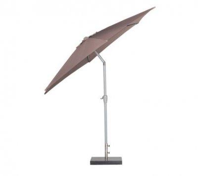 Dominik umbrelă soare, taupe, cu functie de inclinare si manivela