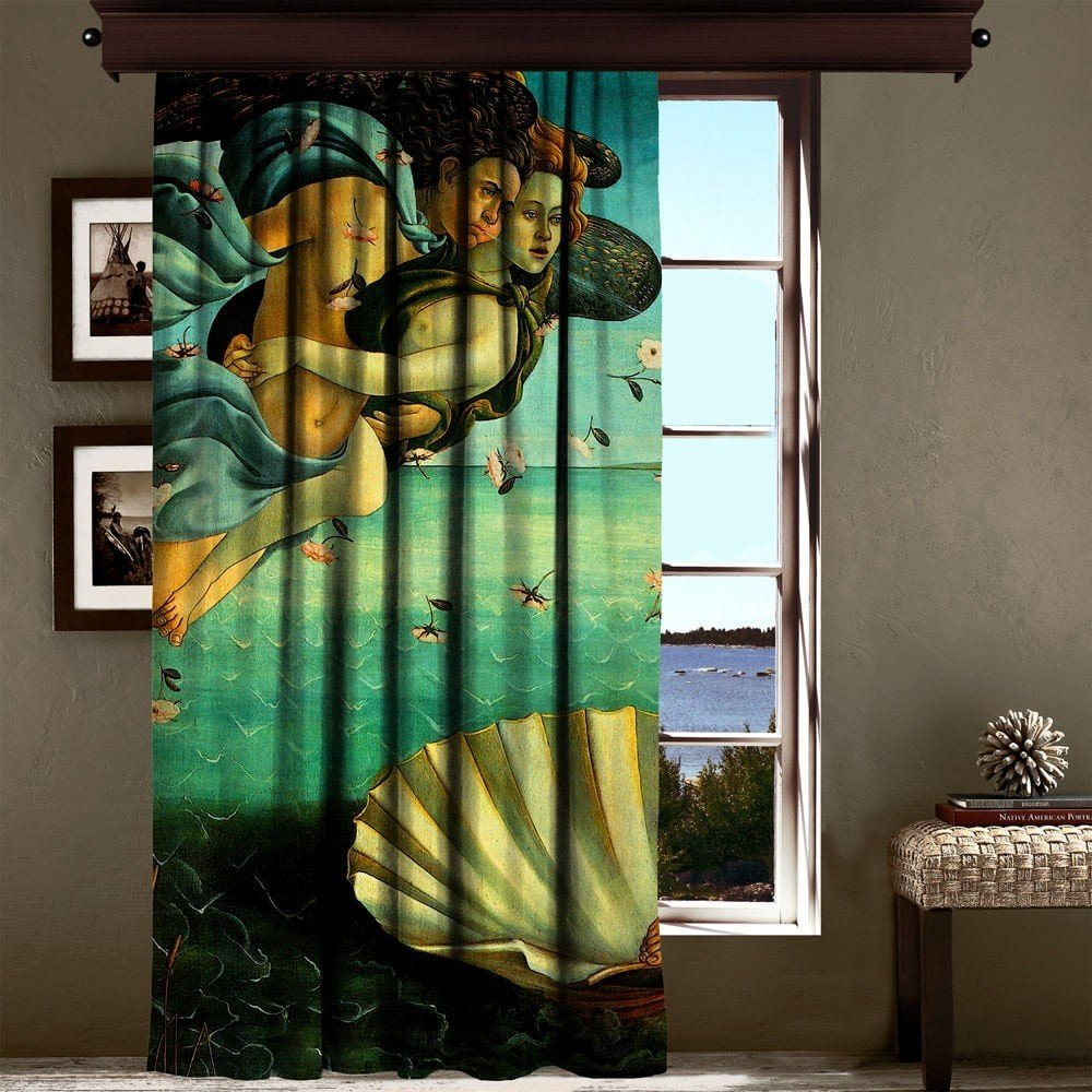 Draperie Curtain Art, 140 x 260 cm, turcoaz