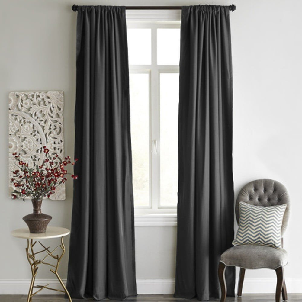 Draperie Home De Bleu Blackout Curtain, 140 x 240 cm, gri antracit