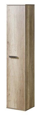 Dulap cu rafturi Roverdon cu o singura usa, din lemn de stejar canyon + Arusha